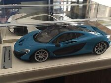 1/18 Tecnomodel Mclaren P1 Baby Blue #02/07 n BBR MR FrontiArt Sold Out! As Is!