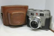 Vintage Kodak Signet 35 Camera Ektar Lens 44mm With Leather Case