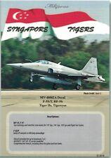 Miliverse 1/48 Singapore Tigers F-5S/T Tigers II, RF-5S Tigereyes (MV-48002A)