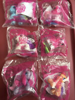 2009 McDonalds My Little Pony COMPLETE SET OF 6 HAPPY MEAL TOYS