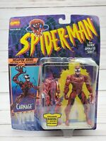 Toy Biz Marvel 1994 Carnage Spider-Man the Animated Series Action Figure New