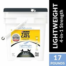 Purina Tidy Cats Light Weight, Low Dust, Clumping Cat Litter LightWeight 4-in-1