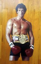 "Sylvester Stallone Display Stand Up Standee 23"" Figure NEW Rocky"
