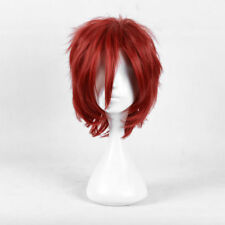 For Cosplay Halloween Child's Play Chucky Cosplay Red Short Full Wig+Wig Cap
