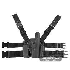 Level 2 Serpa Right Hand Drop Leg Pistol Gun Holster for Glock 17 19 22 23 31 32