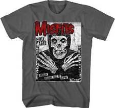 MISFITS - All Ages Fiend GREY T-shirt - Size Large L - Horror Punk Danzig