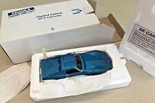 Danbury Mint Limited Edition 1971 Corvette - Die-Cast 1:24 - Blue - NIB
