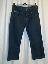 G-STAR RAW 3301 BLADE LOOSE men's button fly blue jeans W30 L28