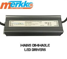 Mains Dimmable LED Driver Power Supply Transformer 100 Watt 24 Volt IP65 C/V