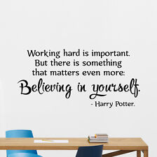 Harry Potter Quotes Wall Decal Motivational Kids Vinyl Sticker Art Mural 88crt