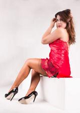 Medias y calcetines de mujer de nailon talla XL