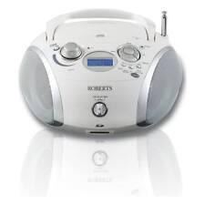 Roberts Zoombox 3 DAB/DAB+/FM CD Radio in White