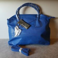 KOSSBERG Tasche/Shopper blau Größe ca. 42 x 30 cm mit Henkel und Trageriemen Neu