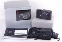 New Leica M10 Digital Rangefinder Camera Black #20000 w/1-year warranty