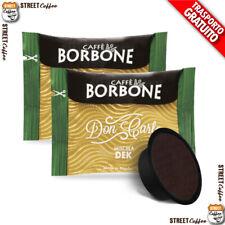 100 Capsule Caffè Borbone Don Carlo Decaffeinato Dek Lavazza a Modo Mio gratis