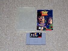 Disney's Toy Story Super Nintendo SNES Cartridge with Manual in Plastic Case