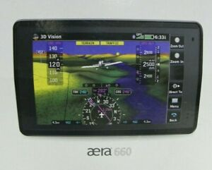 Garmin Aera 660 Aviation Portable GPS Navigation North America *Used*