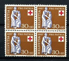 Mint Never Hinged/MNH Block Switzerland Stamps