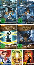 17 DVDs * DIE LEGENDE VON KORRA - BUCH 1 + 2 UND AVATAR 1 - 3 IM SET # NEU OVP +