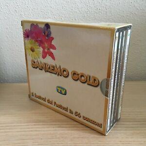 Festival Sanremo Sanremo Gold _ 4 X CD Album BoxSet _ editoriale