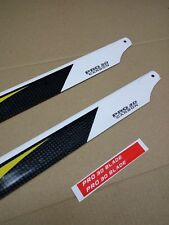 2X Pairs T-REX 500 RC Helicopters 430mm Carbon Fibre Main Rotor Blades