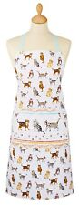 Ap9285 Cats on Parade Design 100 Cotton Apron With Front Pocket by Cooksmart - 12125