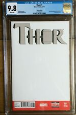 Thor #1 Sketch Edition CGC 9.8 2137052016