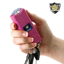 Streetwise SMACK 6 Million Volt Stun Gun / LED Flashlight w/ Key Ring - Pink
