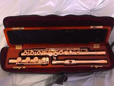 Wm. S. Haynes 14K All-Gold Flute - Fully Loaded w/ Chased Engraved Keys & Rings