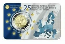 2 Euro Belgio 2019 25º anniversario Istituto Monetario Europeo vers.FRANCESE