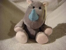 Carte Blanche Blue Nose Friend 4inch rhino Ivory