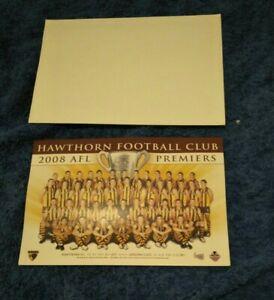 OLD! VINTAGE! 2008 FOOTBALL HAWTHORN HAWKS PREMIERS PREMIERSHIP UNUSED CARD!