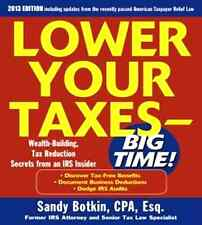 Lower Your Taxes Big Time 2013-2014 5/E (paperback)