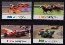 Alemania 1999 caridad Sellos-Sports Sg 2886-2889 Mnh