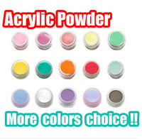 Cover Colour Acrylic Powder for Nail Art Liquid Gel Tips Powder Builder 3D Nail