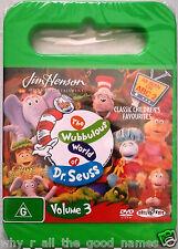 DVD Jim Henson THE WUBBULOUS WORLD OF DR. SEUSS - ABC Childrens TV Show - Vol.3