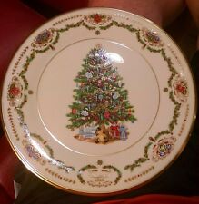 Lenox Christmas Trees Around the World Russia 1996 Limited Edition Plate Rw5