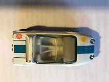 Mattel 1969 Hot Wheels Redline Jack Rabbit Special White Diecast Car & Button