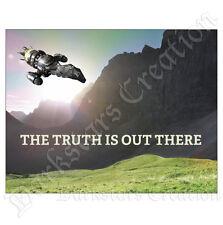 Firefly in Scotland - Serenity X-Files Crossover Mini-Print - Darkstars Fan Art