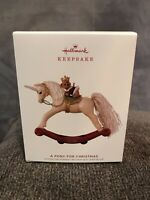 Hallmark 2019 Keepsake Ornament - A Pony For Christmas - 22nd In The Series