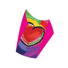 "Kite Red Heart (8) SuperSled (tm) Single Line 18"" x 15"" Kites XL2 - 80103"