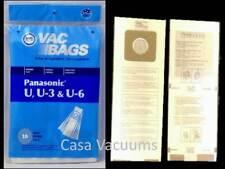 Type U U3 U6 Fit Panasonic Riccar Fuller Brush Belvedere Vacuum Cleaner 10 Bags