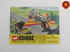 Corgi Toys Catalogue 1969 U.S.A. edition **RARE**