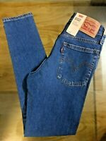 Levi's Women's WEDGIE SKINNY Jeans High Rise Distressed Ripped & Plain RRP 95 £