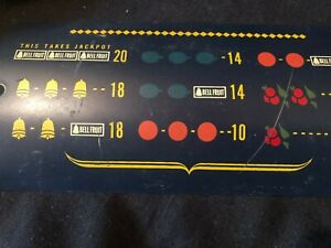 ORIGINAL MILLS SLOT MACHINE AWARD CARD