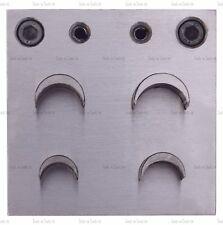 4 disco d'acciaio a forma di luna TAGLIERINA 9 mm - 21 mm Gioielli Modelli Designs