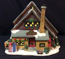 Ski Lodge Holiday Village Kohl's St Nicholas Square Chalet Ceramic Building 2004