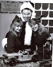 Hee Haw Christmas Gunilla Hutton Misty Rowe Roy Clark 8x10 photo T3512