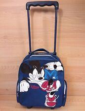 Disney Sports Child's Suitcase Luggage Wheeled Extending Handle Vintage Mickey