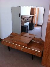 Vintage Retro 4 piece Bedroom Suite in solid Timber & Veneer 1950's 1960's